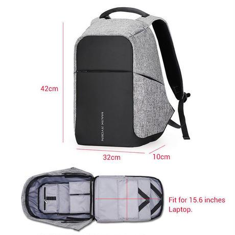 便利な多機能バッグ MARK RYDEN 大容量ストレージバッグ 外部USB端子付き(海外から直送)