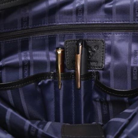 BISON DENIM 本革ボディバッグ メンズ メッセンジャー ヴィンテージ風 高級