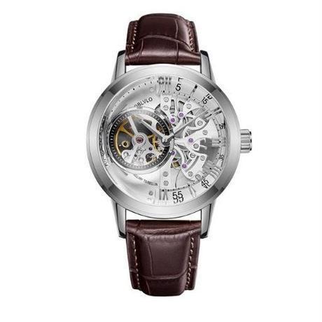 ハリーウィンストン風 メンズ 自動巻腕時計 スケルトン