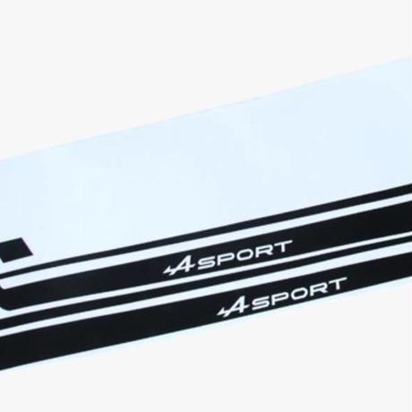 ルノー クリオ ステッカー サイド スカート レーシング Clio R.S【新品】