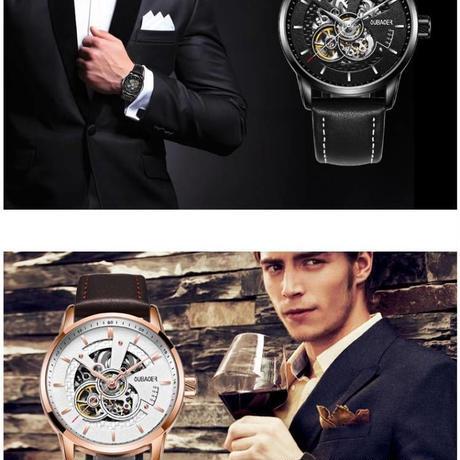 オリジナル メンズ腕時計 トップブランド 高級自動機械式時計 レザーストラップ 海外人気ブランド
