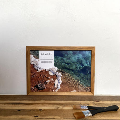 Layers「Transition 北欧」 A4 プリント ポスター アート & アンティーク 木製 フレーム