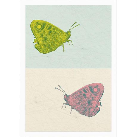 「Schneller gehen」 アートポスター A4 + 木製 ポスターフレーム 壁掛け インテリア
