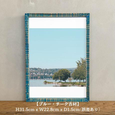 ポスター アート A4 + ポスターフレーム 木製「Daydream Nation - T263」