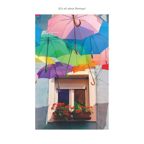 アートポスター インテリア A4 + ポスターフレーム アンティーク「 Silence And Wisdom 」It's all about Portugal No.22
