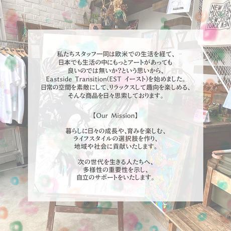 "A3 ポスター プリント + 古材フレーム ""Uyuni bikers"""