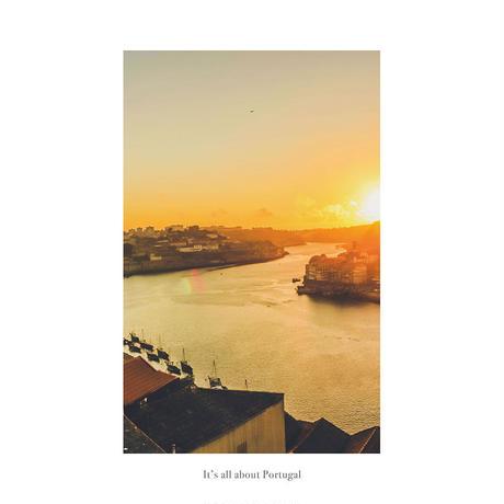 アートポスター インテリア A4 + ポスターフレーム アンティーク「 Sweet Lemonade 」It's all about Portugal No.14
