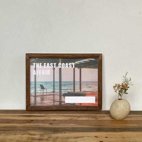 古材フレーム + A4 プリント ポスター 壁掛け アート 【 The East Coast Affair 】