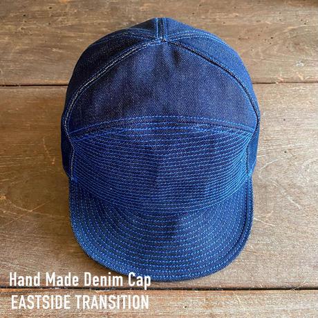 デニム キャップ ハンドメイド 帽子