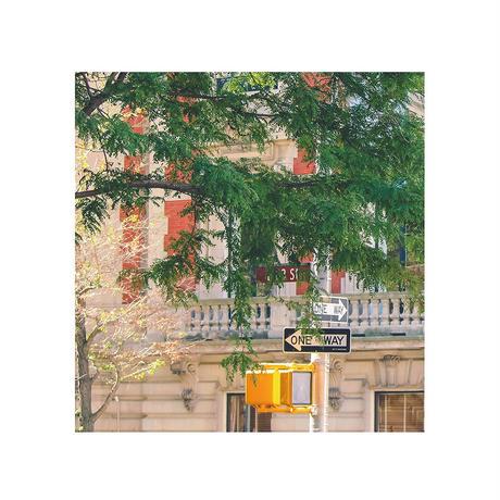 ポスター アート A4 + ポスターフレーム 木製 「Feeling Good - ニューヨーク - マンハッタン T258」