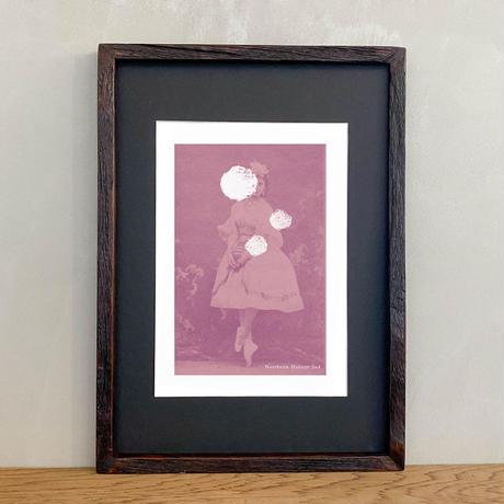 「Northern Dancer 5x4」Classic Portrait グラフィック ポスターアート A4サイズ + A3サイズ 古材 額縁