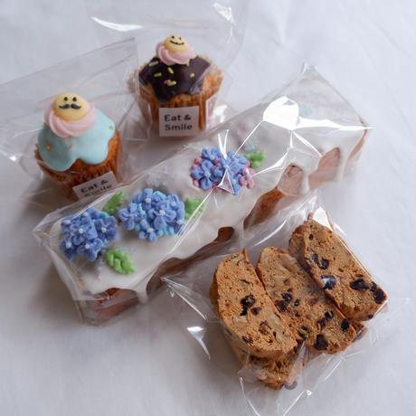 紫陽花パウンドケーキセット
