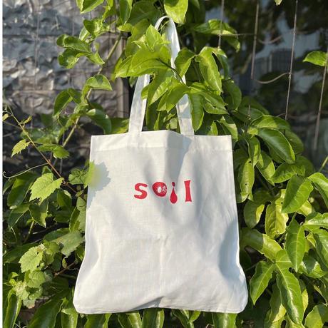 """eatrip soil tote bag    """"  soil """""""