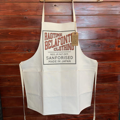 BELAFONTE RAGTIME SHOP APRON CANVAS