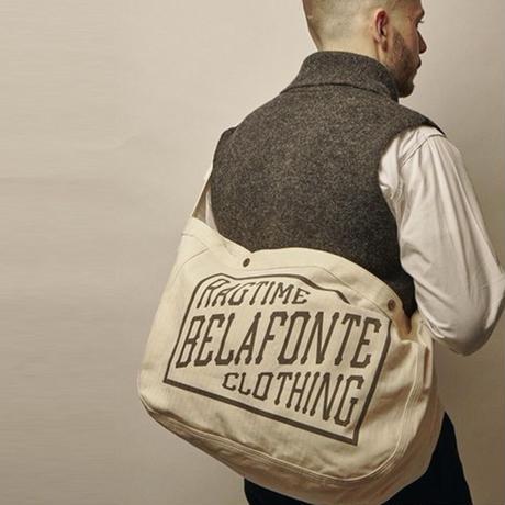 BELAFONTE RAGTIME NEWSPAPER BAG HERRINGBONE