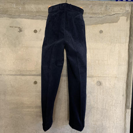 RAGTIME 2TACK CORDUROY TROUSERS(WASHED)