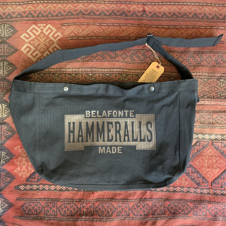 RAGTIME HERRINGBONE NEWSPAPER BAG