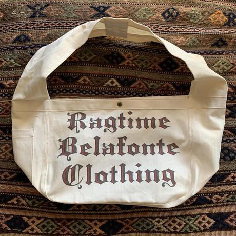 BELAFONTE RAGTIME FAT STRAP NEWSPAPER BAG HERRINGBORE