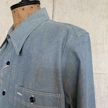RAGTIME TRIPLE STITCH CHAMBRAY SHIRTS