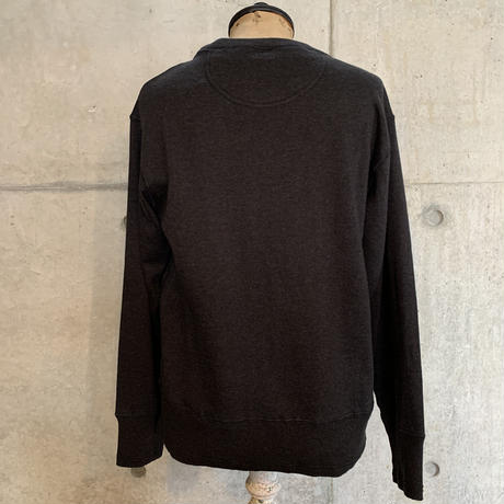 BELAFONTE RAGTIME HEATHER MIX COTTON KNITTED AZE RIB SWEATER L/S