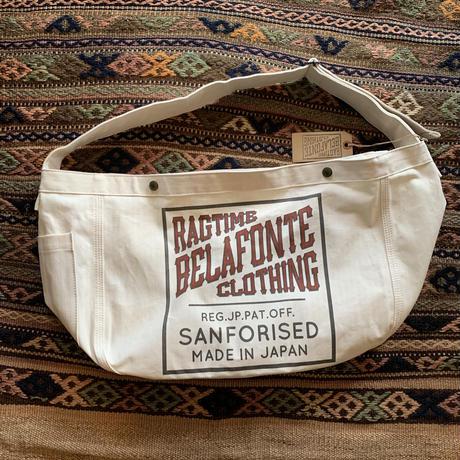 BELAFONTE RAGTIME HERRINGBONE NEWS PAPER BAG