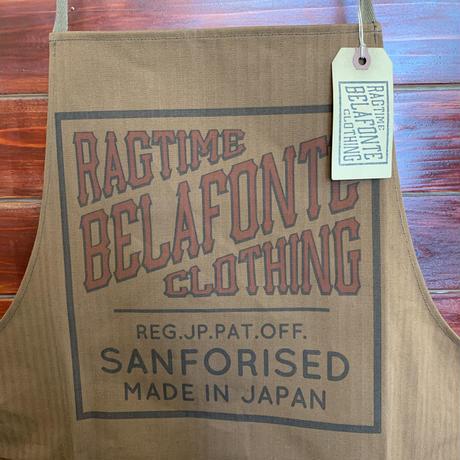 BELAFONTE RAGTIME SHOP APRON HERRINGBONE