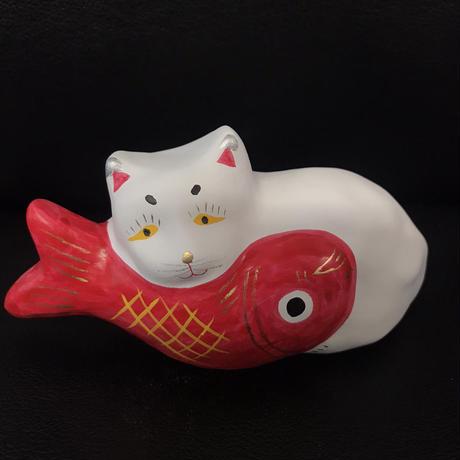 猫に鯛 3  相良人形