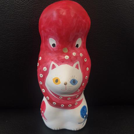 猫に蛸 プレミアム4 三蛸3 相良人形