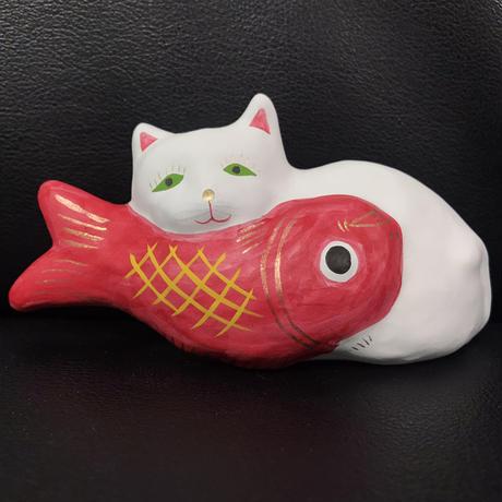 猫に鯛 1  相良人形 6月限定値引き