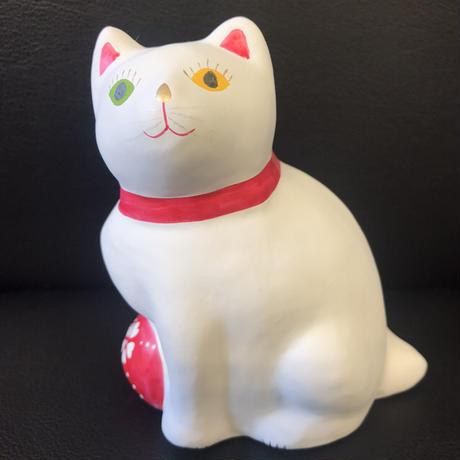 猫に毬(大) 5    相良人形