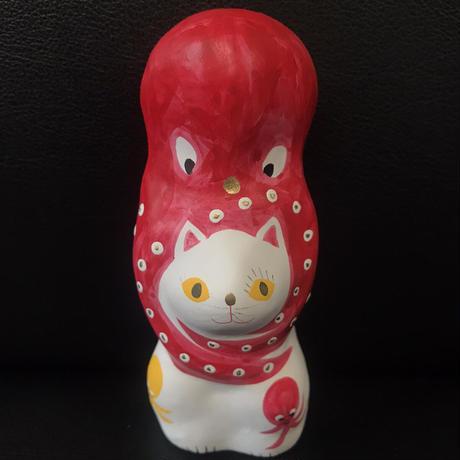 猫に蛸 プレミアム6 三蛸5 相良人形