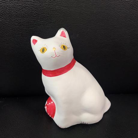 """猫に毬(小) 13  相良人形 (""""ま""""のサインなし)"""