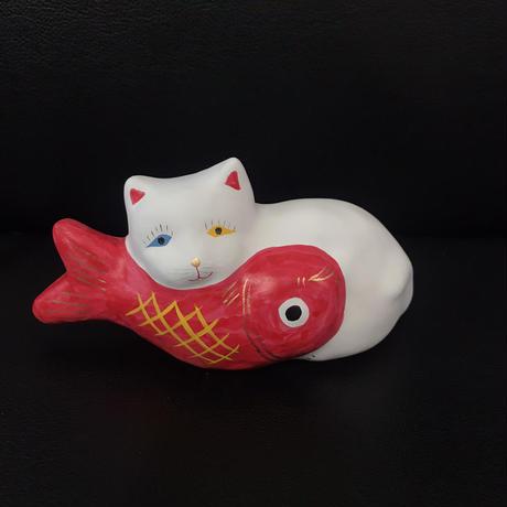 猫に鯛 2  相良人形