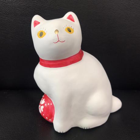 猫に毬(大) 3  相良人形