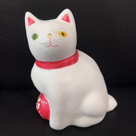 猫に毬(大) 2  相良人形