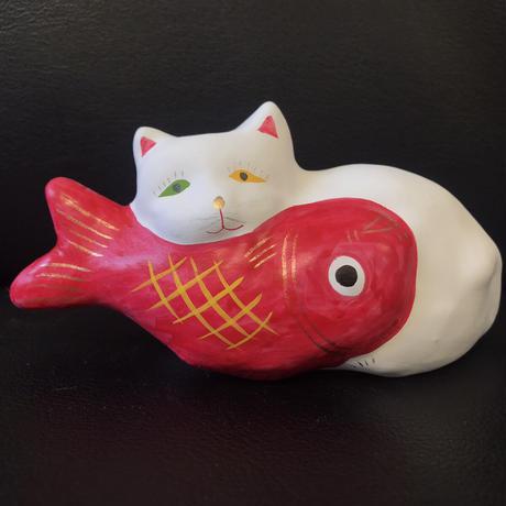 猫に鯛 6  相良人形