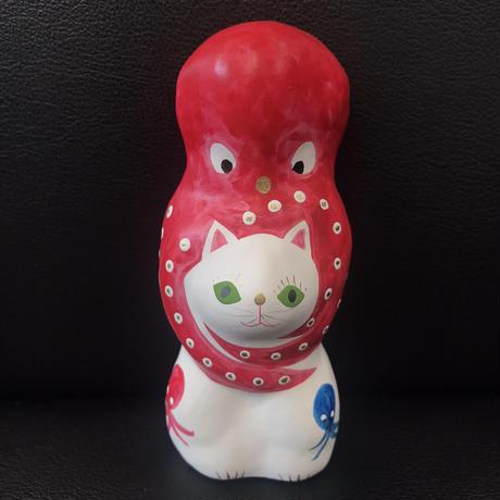 猫に蛸 プレミアム2 三蛸1 相良人形