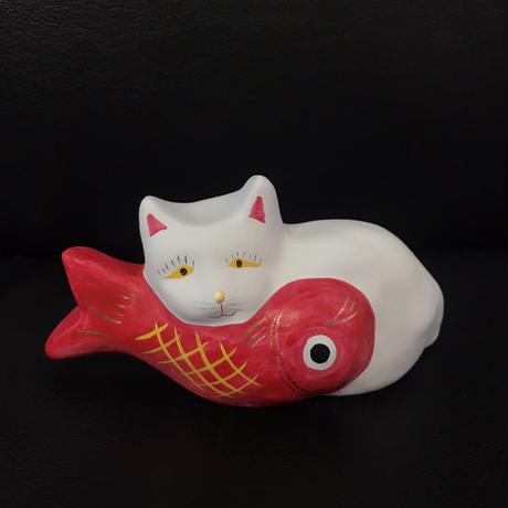 猫に鯛 4  相良人形