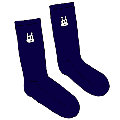 KEMUSHI SCHOOL SOCKS NAVY