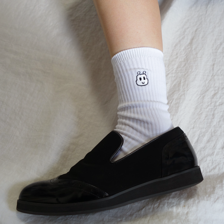 KEMUSHI SCHOOL SOCKS WHITE