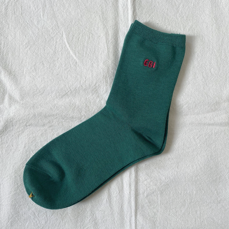 EBI SOCKS & HOLIDAY ORNAMENT  holiday green