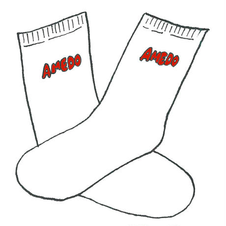 AMEDO SOCKS white