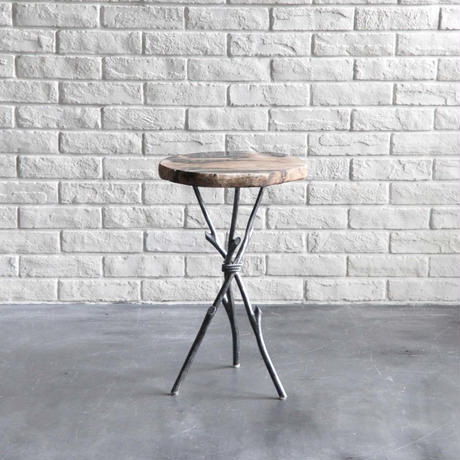 Twiggy Petrified wood Side Table  S