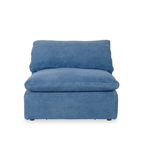 HALO LUSCIOUS ARMLESS SOFA OLD LOOM OCEAN