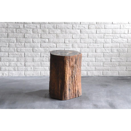 Tree Trunk Smoking Table