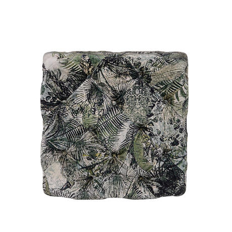 HALO TUFT STOOL VINTAGE FOREST