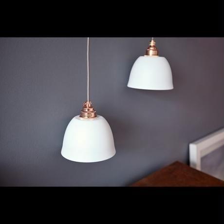 Miniature Bell PENDANT WH&COPP