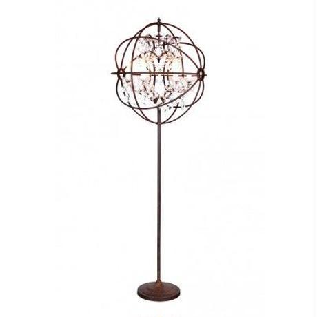HALO GYRO CRYSTAL FLOOR LAMP