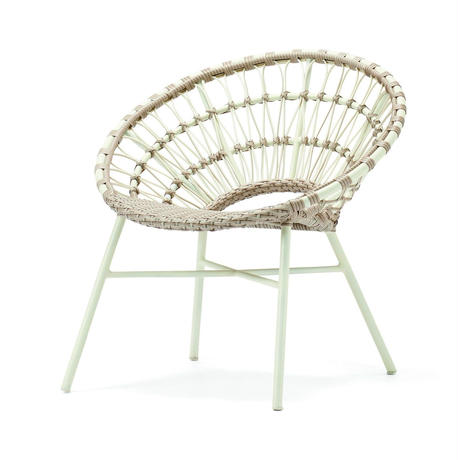 ASPLUND DAHLIA LOUNGE CHAIR CREAM