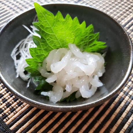 富山の白海老 刺身用 手むき200g(冷凍)